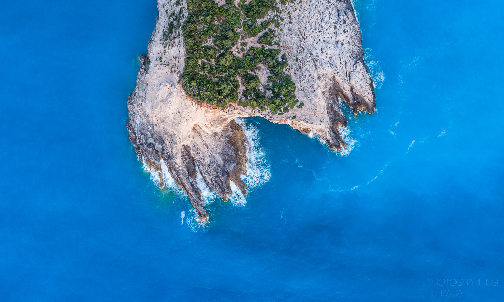 Photographing Lefkada